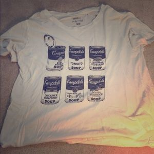 Andy Warhol Soup Can Shirt